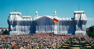 Wrapped Reichstag, Berlin 1971-95