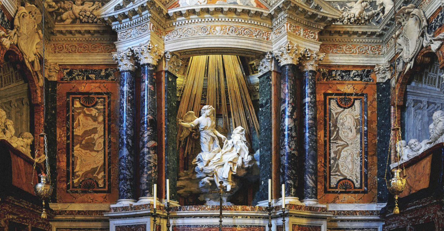 Ecstasy of Saint Teresa at the Cornaro Chapel