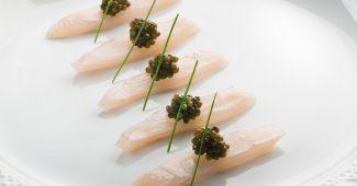King Fish Caviar © Le Bernardin