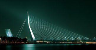 Erasmus Bridge, Rotterdam.