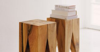e15's signature Backenzahn stool
