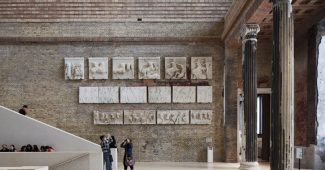 Neues Museum, interior. © David Chipperfield Architects