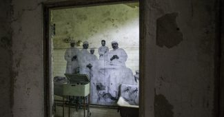 JR's Ellis Island photography project
