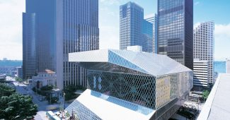 Seattle Central Library, exterior