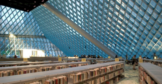 Photo courtesy of the Seattle Central Library