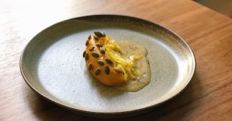 Winter squash with Koji lime