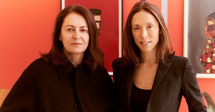 Amalia Dayan and Daniella Luxembourg