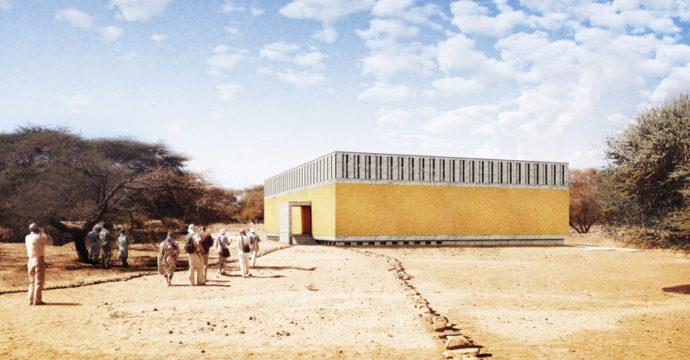 Meroë Royal Baths Protective Shelter