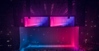Drake's Aubrey and the Three Migos Tour (2017) - creative direction and set design by Willo Perron