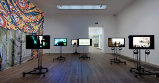 Installation view, A Bigger Splash: Painting after Performance (Tate Modern, 2012)
