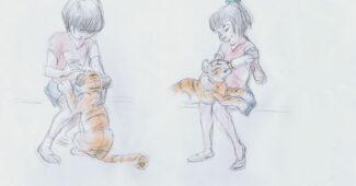 Mushka character sketches by Andreas Deja
